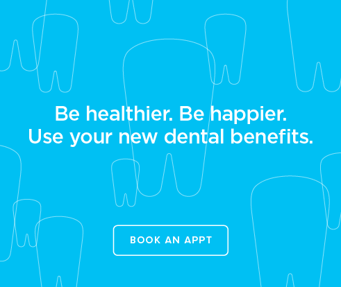 Be Heathier, Be Happier. Use your new dental benefits. - Centerville Dental Group and Orthodontics